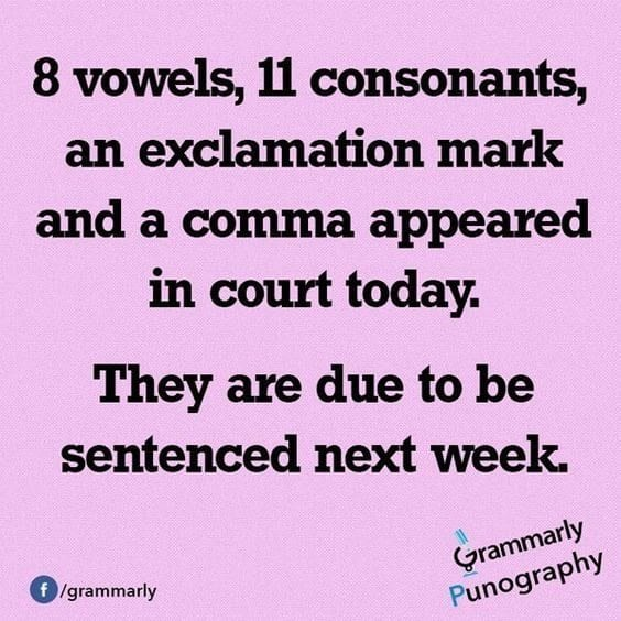 Grammar Puns Only A True English Nerd Will Get Weareteachers