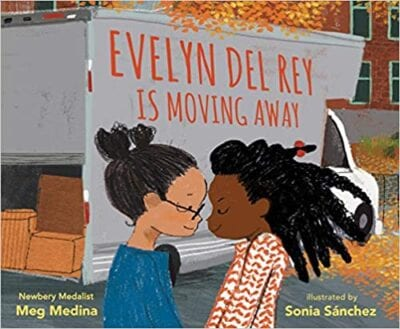 Book cover for Evelyn Del Ray is Moving Away