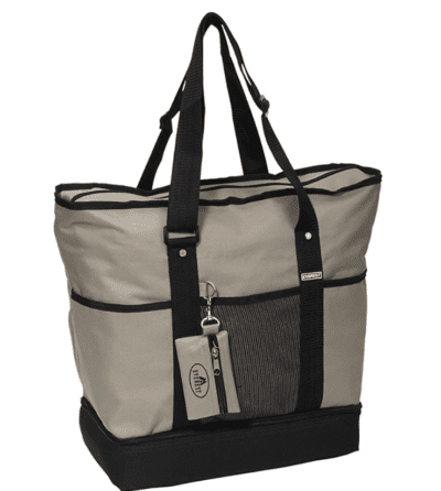 Everest deluxe shopping tote in Khaki
