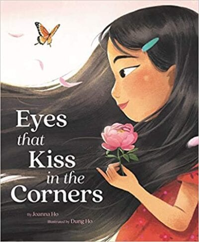 Book cover for Eyes That Kiss in the Corners as an example of children's books that teach social skills