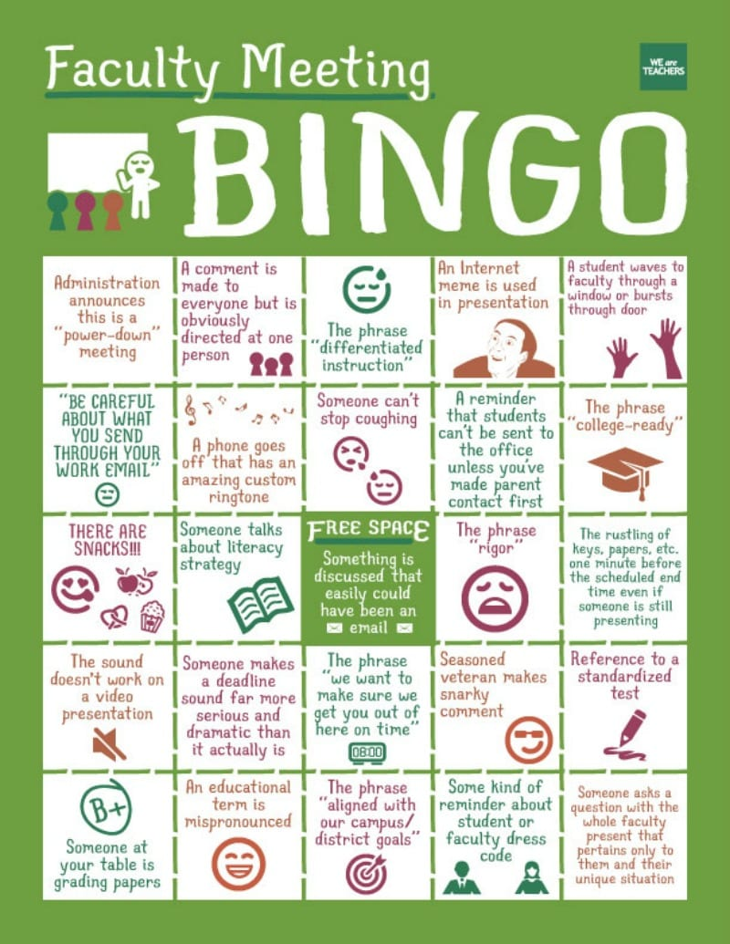 faculty-bingo