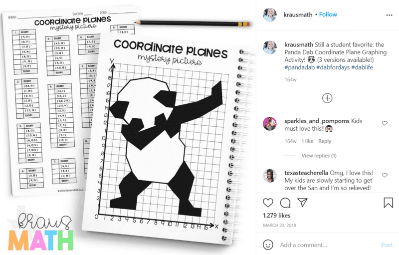 Still of fifth grade assessment ideas show it with hidden pictures from Instagram