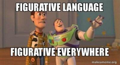 Figurative language everywhere toy story meme