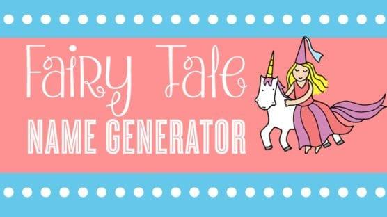Fairy Tale Name Generator