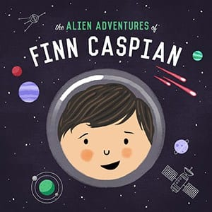Logo image for The Alien Adventures of Finn Caspian podcast