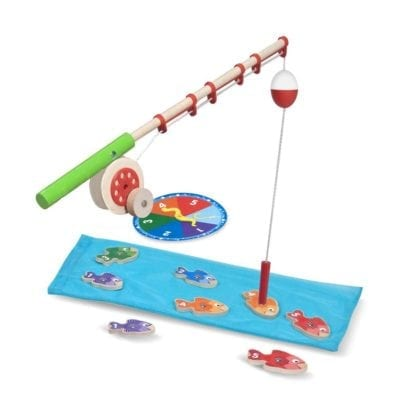 Fishing game for camping themed classrooms