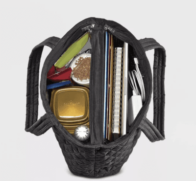 Fit and fresh tote bag with lunch compartment