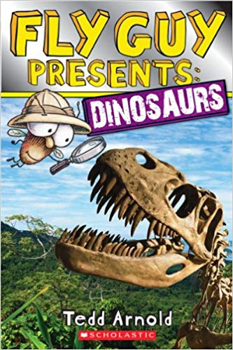 Book cover for Fly Guy Presents: Dinosaurs