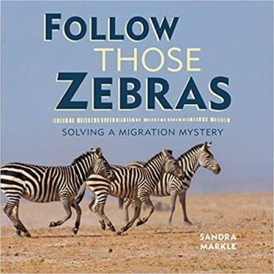 Book cover for Follow Those Zebras: Solving a Migration Mystery