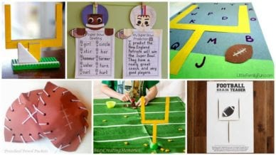 Super Bowl and Football Activities For Kids