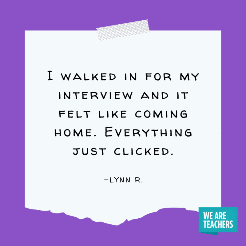 """""""I walked in for my interview and it felt like coming home. Everything just clicked."""" —Lynn R."""