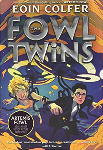 Book cover for The Fowl Twins