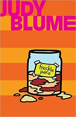 Book cover of Freckle Juice by Judy Blume
