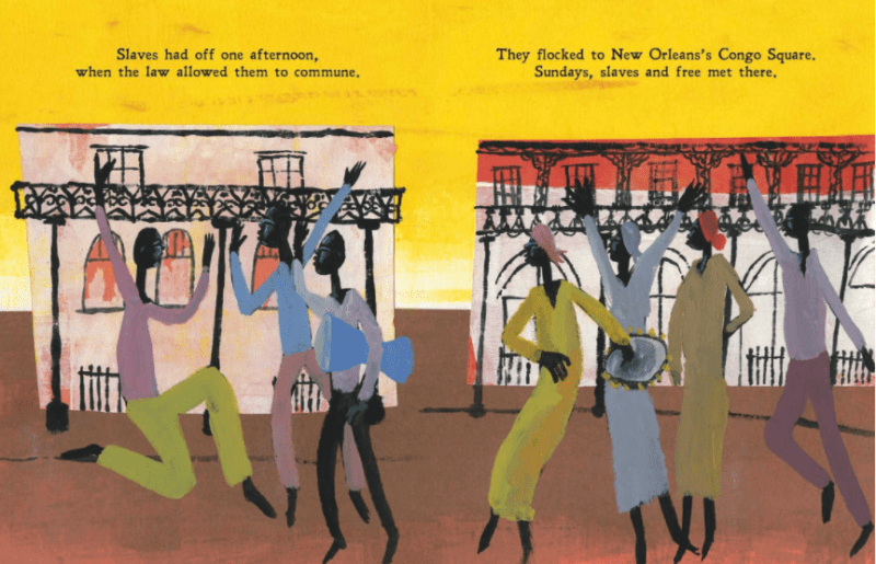 Freedom in Congo Square book for Black History lessons