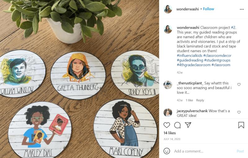 Still of fresh and fun fourth grade classroom ideas from Instagram