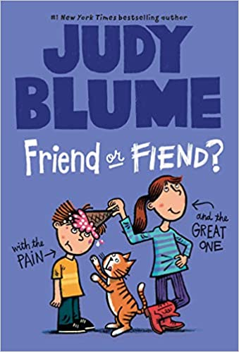 Book cover of Friend or Fiend by Judy Blume