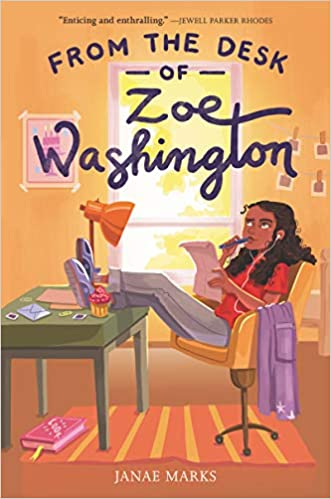 Book cover for From the Desk of Zoe Washington as an example of social justice books for kids