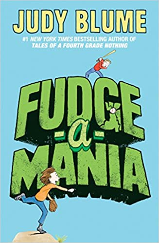 Book cover of Fudge-a-Mania by Judy Blume