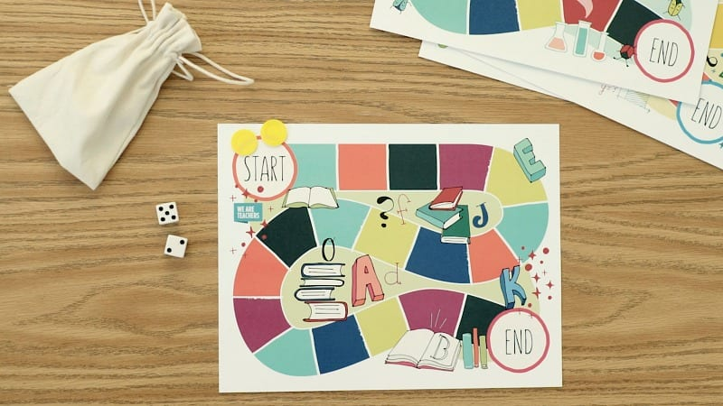 Free Printable Game Boards