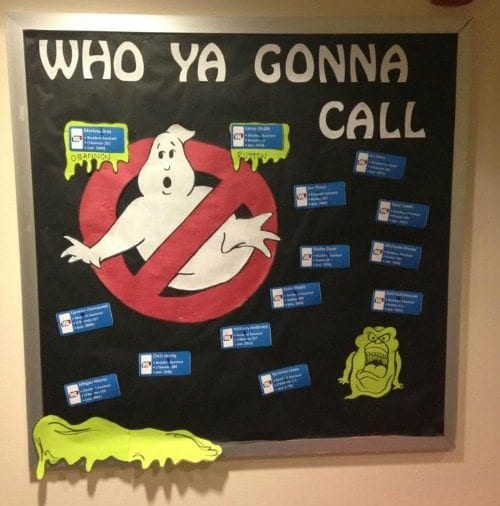 Ghostbusters Bulletin Board