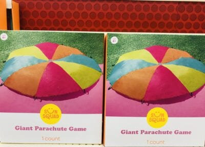 Giant Parachute game in box at Target