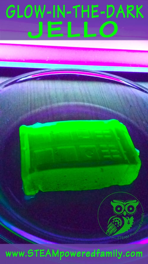 Glow In The Dark Jello With Doctor Who Awesomeness