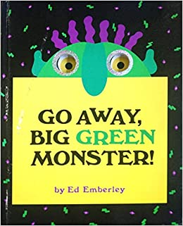 Book cover for Go Away Big Green Monster