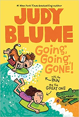 Book cover of Going Going Gone by Judy Blume