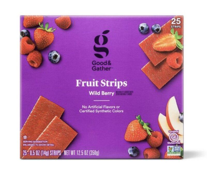 Good & Topla Yabani Berry Meyve Şeritleri