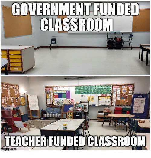 These Classroom Setup Photos Prove We Should Be Paying Teachers More