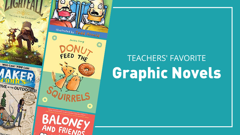 Teachers' favorite graphic novels for the classroom.