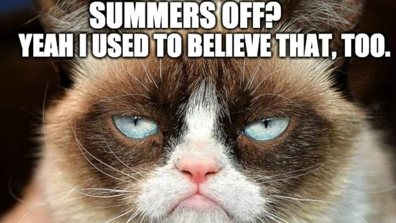 24 Clever Memes You Can Use To Respond To You Get Summers Off