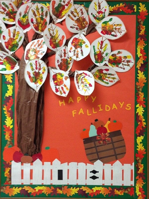 marvelous Bullentin Boards For Fall Part - 12: Thankful Bulletin Board