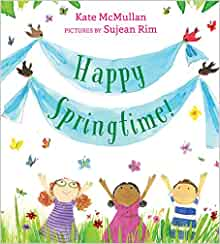 Book cover for Happy Springtime