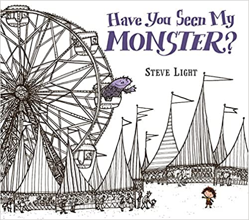 Book cover for Have You Seen My Monster? as an example of kids books about monsters