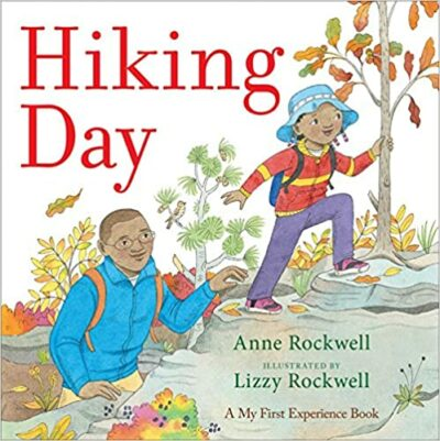 Book cover for Hiking Day as an example of mentor texts for narrative writing
