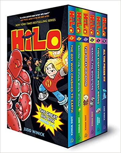 Hilo book series box set books 1 through 6