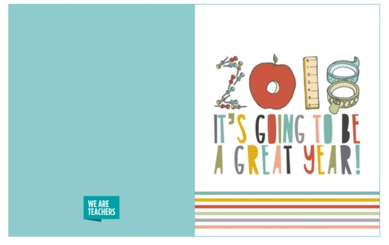 printable holiday cards for coworkers students parents