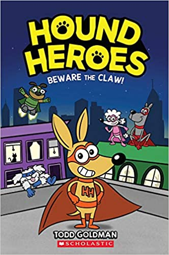 Book cover for Hound Heroes: Beware the Claw as an example of graphic novels for kids