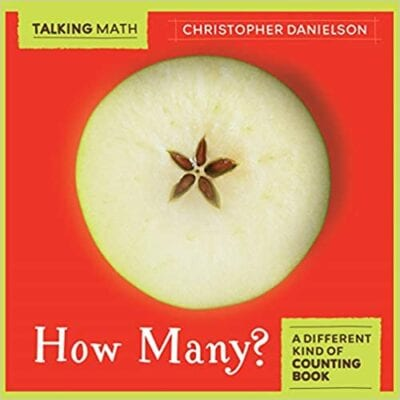 Book cover for How Many? as an example of books about math for kids
