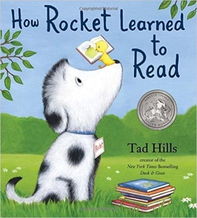 books about reading: how rocket learned to read