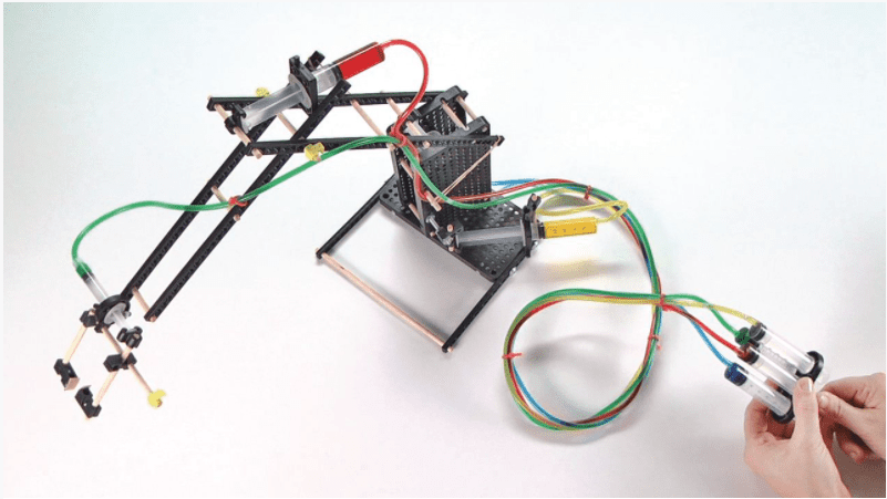 hydraulic arm hands-on science kit