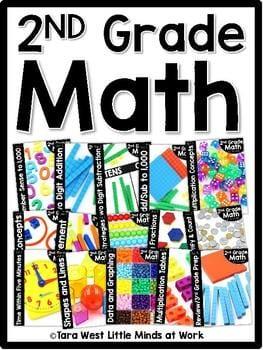 """""""2nd grade math"""" by Tara West"""