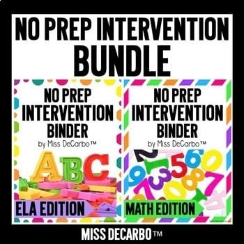 """""""No prep intervention bundle"""" by Miss DeCarbo"""