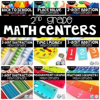 """""""2nd grade math centers"""" by Not So Wimpy Teacher"""
