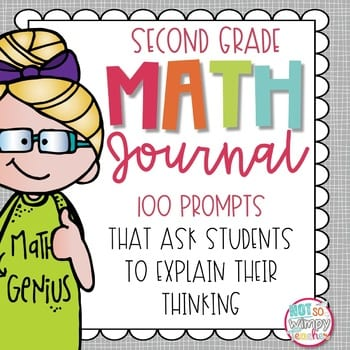 """""""Second grade math journal"""" by Not So Wimpy Teacher"""