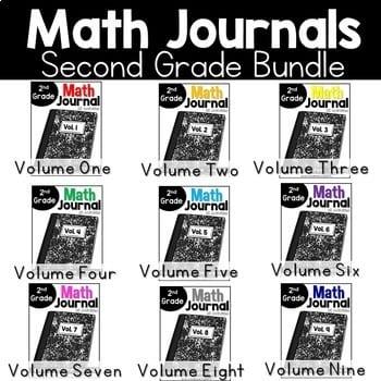 """Math journals second grade bundle"" by Reagan Tunstall"