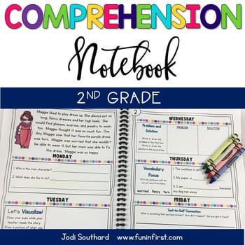 """comprehension notebook"" by Jodi Southard"