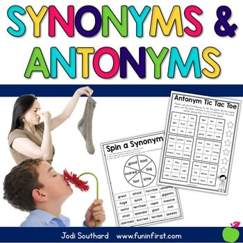 """""""synonyms and antonyms"""" by Jodi Southard"""