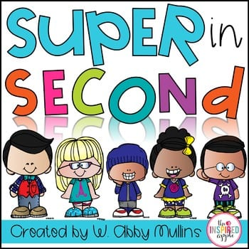 """""""Super in second"""" by Babbling Abby"""